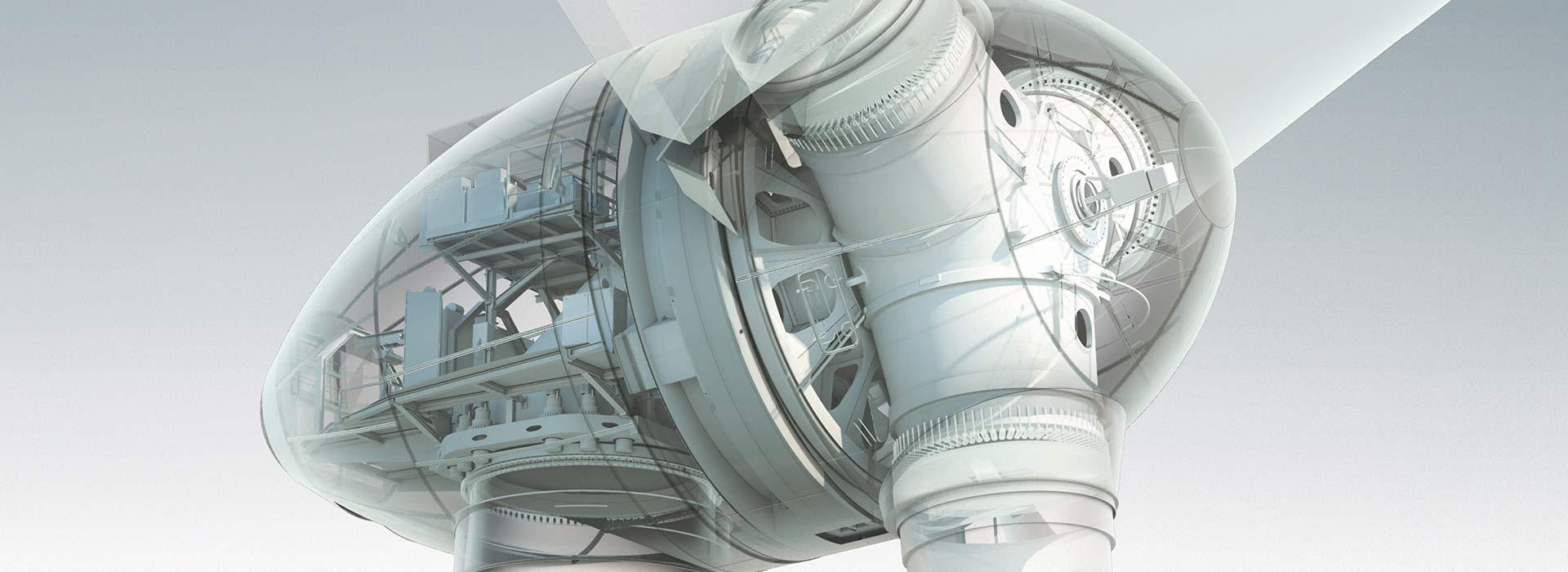 Connecting Composites - Gondel - © ENERCON GmbH