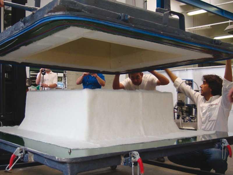 RTM Fabrication - advanced technologies - © METYX Composites